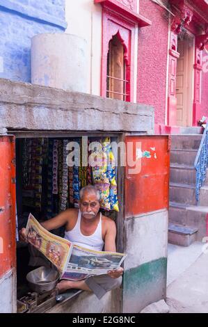 Indien Rajasthan State Jodhpur Altstadt - Stockfoto