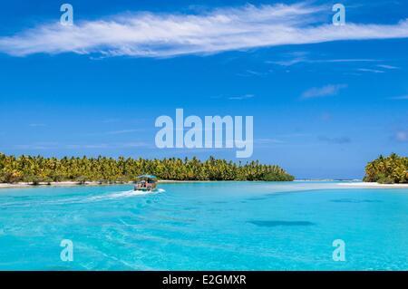 One Foot Island Aitutaki Atoll Cook Inseln