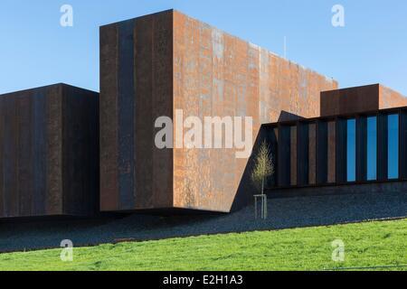 Frankreich Aveyron Rodez Soulages Museum katalanischen Architekten Passelac & Roques RCR zugeordnet.