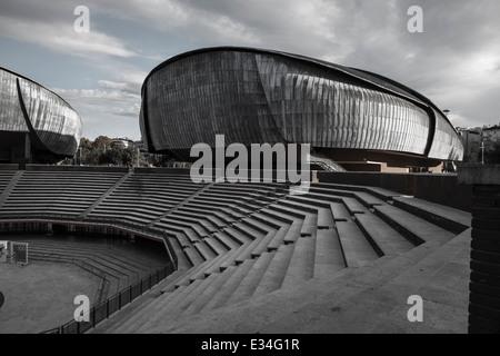 Auditorium in Rom vom italienischen Architekten Renzo Piano
