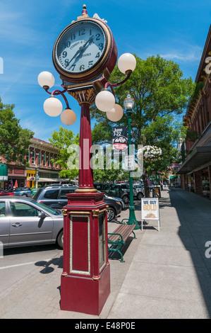 Walla Walla, Washington downtown - Stockfoto
