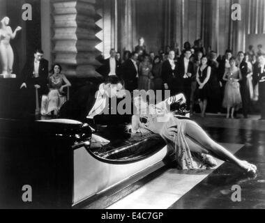 "Rod La Rocque, Joan Crawford, am Set des Films, ""Unsere Modern Maidens"", 1929 - Stockfoto"