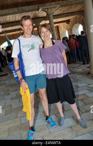 Plymouth königliche William Yard Devon, UK. 15. Juli 2014. Der Herzog von Cornwall, Prinz Charles Tour ist die Royal - Stockfoto