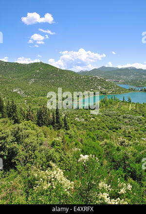 Bacinska Seen in der Nähe von Ploce, Kroatien - Stockfoto