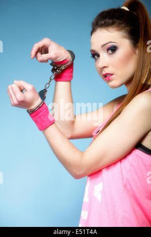 Serious Young Teen Girls Face Stockfotos & Serious Young