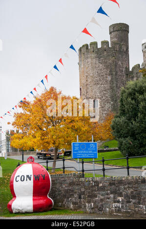 Conwy, Wales, UK - Stockfoto