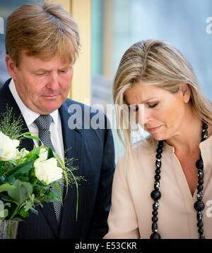 Den Haag, Niederlande. 18. Juli 2014. Das niederländische Parlament ...