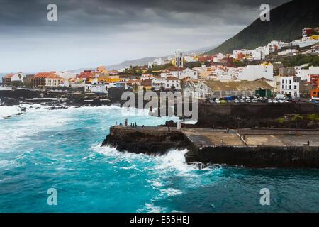 Garachico. Teneriffa, Kanarische Inseln, Atlantik, Spanien, Europa. - Stockfoto