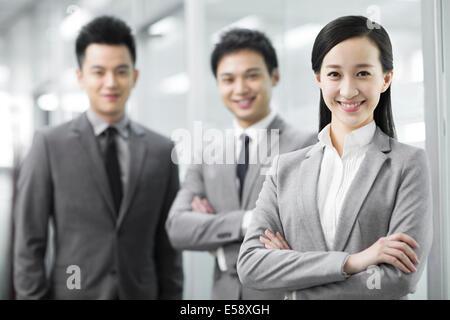 Happy Business-team - Stockfoto