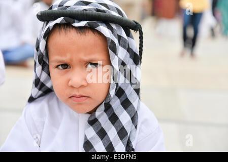 Ahmedabad, Indien. 29. Juli 2014.  Muslime feiern Eid al-Fitr, das Ende des Fastenmonats Ramadan markiert, ist Eid - Stockfoto