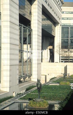 Ministère de französischen et des Finances À Paris - Stockfoto