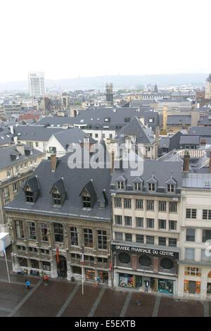 Frankreich, Haute Normandie, Seine maritim, rouen, ancien Hotel des finances, Office du tourisme, Place de la Cathedrale, - Stockfoto