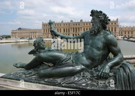 Frankreich, ile de france, yvelines, versailles, Schloss versailles, Garten - Stockfoto