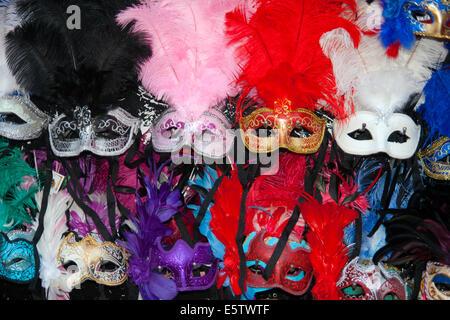 Venezianische Karnevalsmasken - Stockfoto