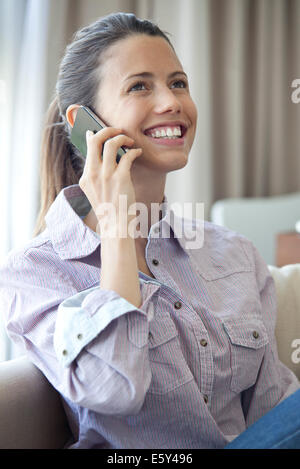 Gute Nachricht kommt per Telefonanruf