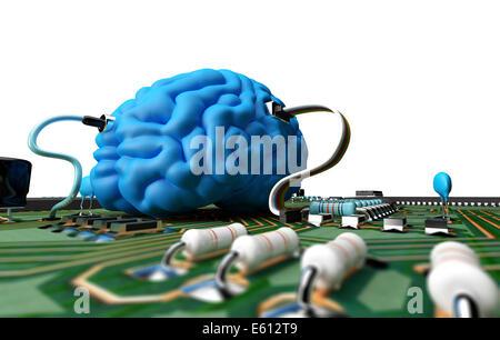 Elektrische Schaltung mit verschiedenen Komponenten, die eine ...