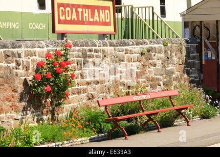 Goathland Station North Yorkshire Moors Railway Goathland Scarborough North Yorkshire England - Stockfoto