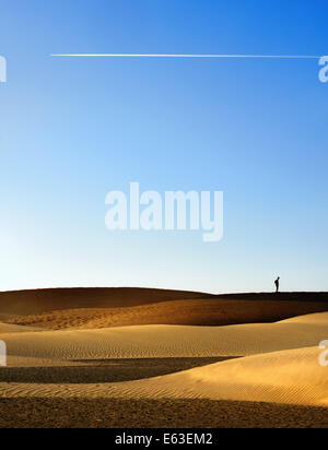 Sandy Dünen - Stockfoto