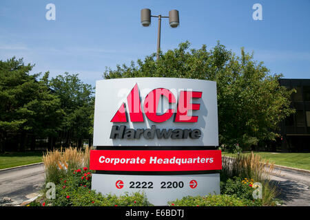 Das Hauptquartier der Ace Hardware in Oak Brook, Illinois. - Stockfoto