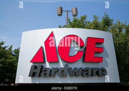 Das Hauptquartier der Ace Hardware in Oak Brook, Illinois. - Stockfoto