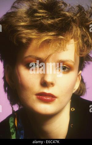 ALTERED IMAGES Promo-Foto der Sängerin Claire Grogan über 1982 - Stockfoto