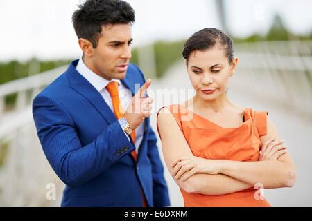 Paar-Konflikt - Stockfoto