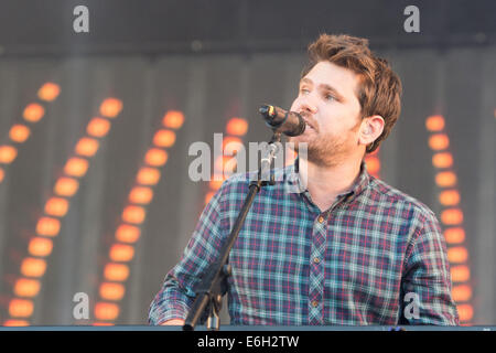 Portsmouth, Hampshire, UK. 23. August 2014. Siegreiche Festival - Samstag, Southsea, Hampshire, England. Scouting - Stockfoto
