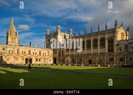 Christ Church College und Cathedral, Oxford, Oxfordshire, England - Stockfoto