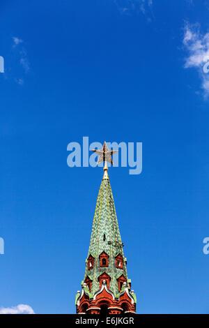 Borovitskaya Turm des Kreml, Moskau, Russland - Stockfoto