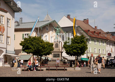 marktstrasse bad t lz bayern deutschland stockfoto bild 122716340 alamy. Black Bedroom Furniture Sets. Home Design Ideas