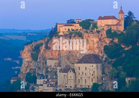 Rocamadour, Region Midi-Pyrénées, Departement Lot, Frankreich, Europa - Stockfoto