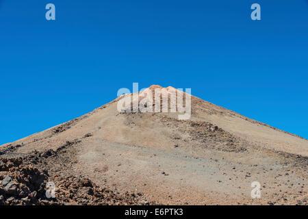 Vulkanischen Gipfel des Pico del Teide, 3718m, Parque Nacional de Las Cañadas del Teide Nationalpark Teide - Stockfoto