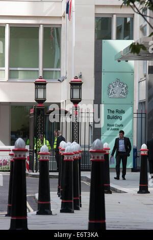 Die Rollen, die Gebäude, Königliche Gerichtshöfe, London - Stockfoto