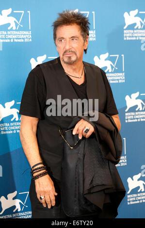 "Venedig, Italien. 30. August 2014. Al Pacino während der ""The Humbling/Manglehorn"" Photocall auf die 71nd Venice - Stockfoto"