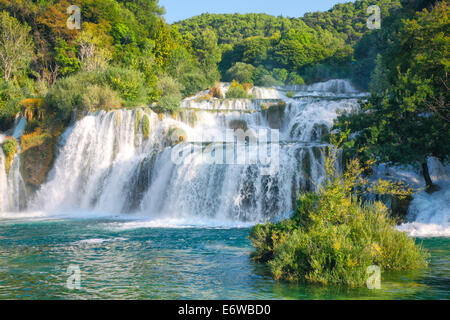 Nationalpark Krka Skradinski Buk, Kroatien - Stockfoto