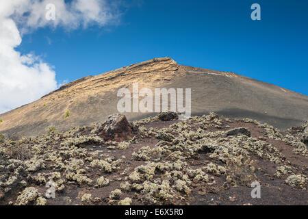 San Antonio Vulkan, einer der zahlreichen eruptiven Zentren auf die aktive Cumbre Vieja Stratovulkan in La Palma, - Stockfoto