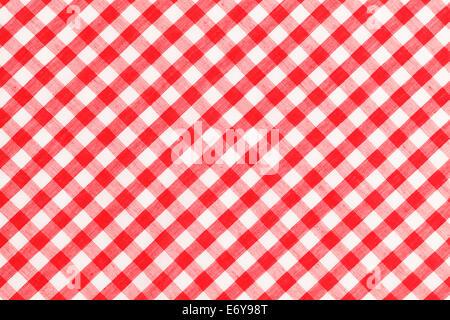 rot wei karierte picknick tischdecke stockfoto bild 43957638 alamy. Black Bedroom Furniture Sets. Home Design Ideas