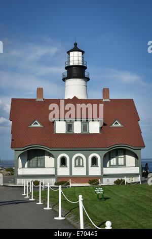 Maine-Leuchtturm - Stockfoto