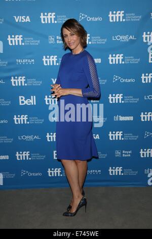 """Toronto, Kanada. 05. Sep, 2014. US-Schauspielerin Vera Farmiga stellt bei dem Fototermin von """"The Judge"""" während - Stockfoto"""