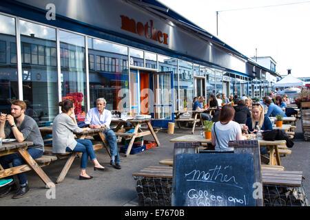 Mutter, italienisches Restaurant, Kopenhagen, Dänemark - Stockfoto