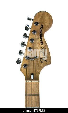 E-Gitarre Fender Stratocaster-Kopfplatte