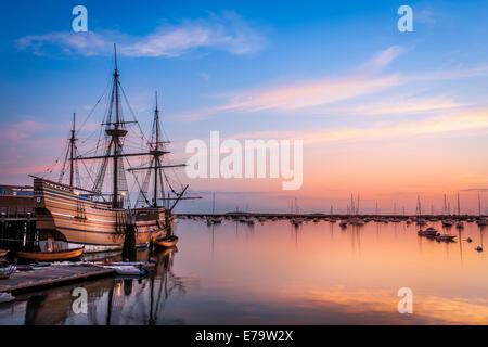 Mayflower-Sunrise - Stockfoto