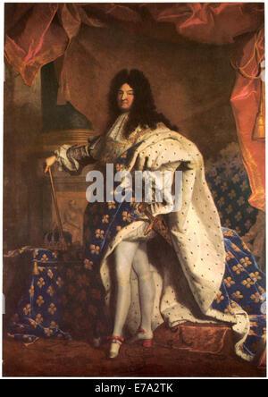 louis xiv k nig von frankreich gem lde von hyacinthe rigaud 1701 stockfoto bild 19167988 alamy. Black Bedroom Furniture Sets. Home Design Ideas