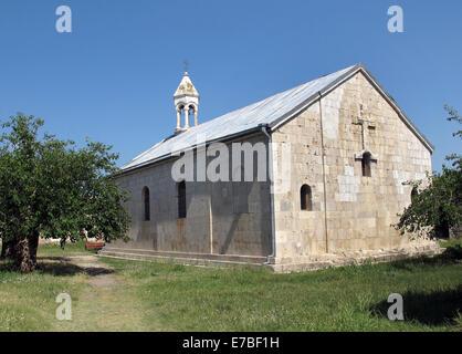 Außenansicht des Amaras Kloster im Dorf Sos in der armenischen Region Berg-Karabach am 26. Juni 2014. Das Kloster - Stockfoto