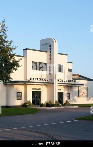 Chichester, West Sussex, UK. 12. September 2014.  Goodwood motor Schaltung, am Eröffnungstag der dreitägigen Veranstaltung, - Stockfoto