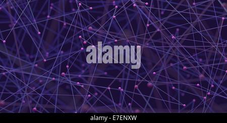 Zusammenfassung Hintergrund der Rohre und Verbindungen in einem Netzwerk der Technologie