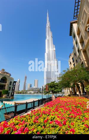 Burj Khalifa, Innenstadt - Stockfoto