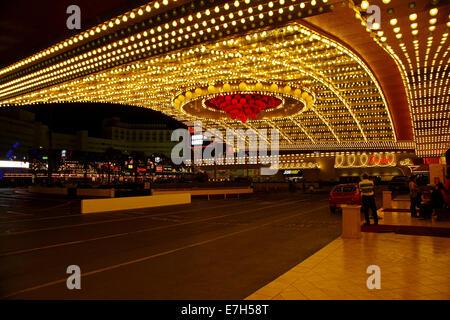 Eingang zum Circus Circus Hotel & Casino, Las Vegas, Nevada, USA - Stockfoto