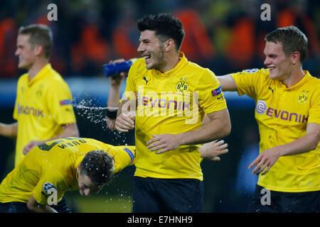 Dortmund, Deutschland, Deutschland, UEFA Championsleague Spieltag 1, BV Borussia Dortmund - Arsenal FC 2-0 im Signal - Stockfoto