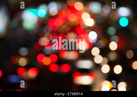 Lichter der Großstadt - Stockfoto